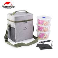 PVC Alumnium Film Picnic Basket Keep Cold Hot Insulation Folding Food Storage Lunch Bags Picnic Handbag