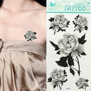 Free Shipping 10 Pieces 2011 Fashion Waterproof Transfer Tattoo Sticker / LES TROMPE DE C C L'OEIL TEMPORARY SKIN ART TATTOOS
