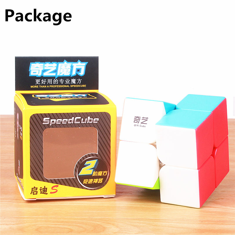 Image 5 - QIYI QIDI 2X2X2 MAGIC SPEED CUBE POCKET STICKERless PUZZLE CUBE PROFESSIONAL 2x2 SPEED CUBE EDUCATIONAL funny TOYS FOR CHILDREN-in Magic Cubes from Toys & Hobbies