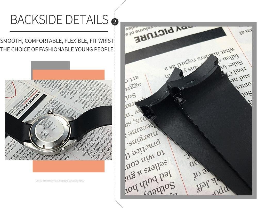 relógio alta qualidade nova moda suave pulseira