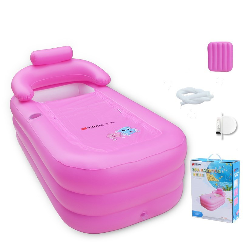 Adult Spa PVC Folding portable bathtub for adults Inflatable Bath ...