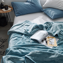 soft Coral Fleece blanket for bed office sofa throw winter summer all season blankets adult Bedspread solid quilt famvotar solid color 3 piece quilted bedspread fancy vertical pattern summer bedspreads sofa couch blanket all season throws