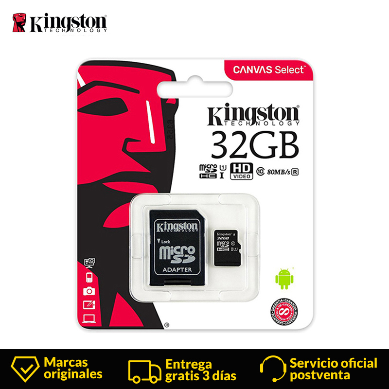 Kingston Technology Micro SD Card 32GB MicroSD Memory Card Class10 UHS-1 Flash Card MicroSDHC TF/SD Cards For Smartphone Tablet