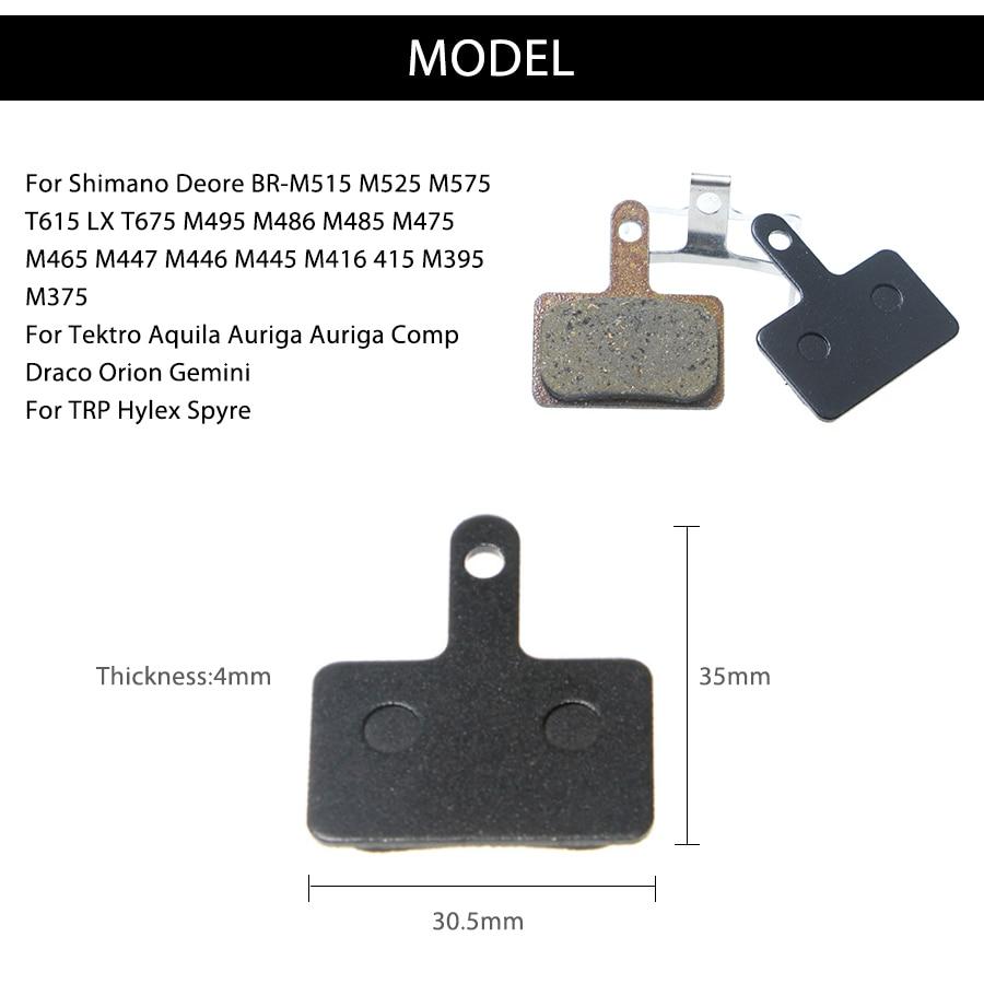 4 para kočione pločice za Shimano Deore M515 525 575 615 LX T675 - Biciklizam - Foto 3