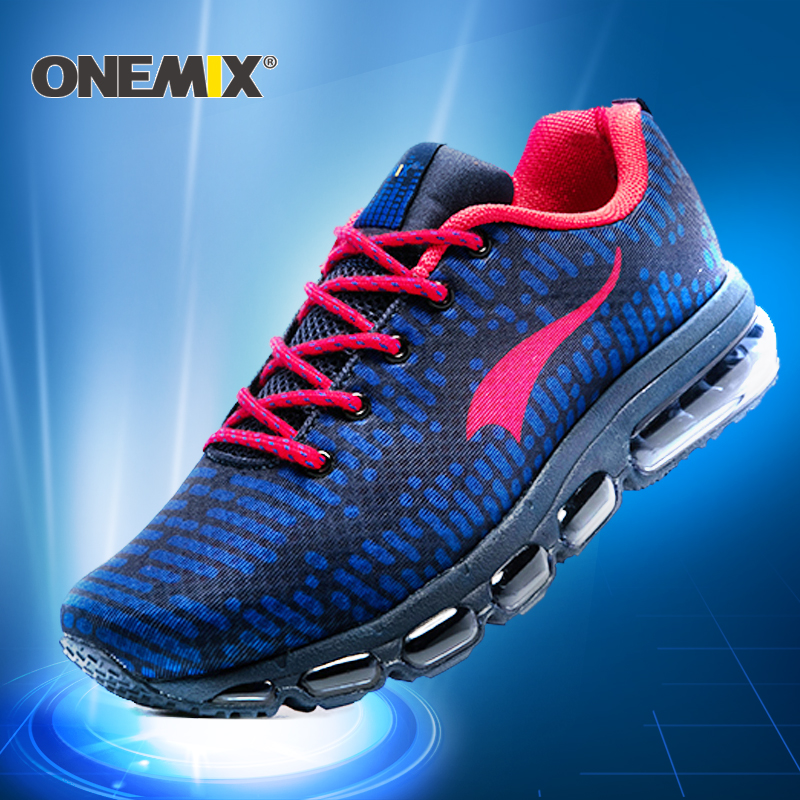 Onemix 2017 New Running Shoes men or women Outdoor Sport shoes air cushion sneaker zapatos hombre trekking shoes Free Shipping 2017 running shoes men sneakers for men sport zapatillas deportivas hombre free run sneaker mens runners china wear resistant