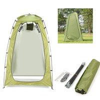 1 2x1 2x1 8m Portable Privacy Camping Shower Tents Outdoor Waterproof Toilet Tent Change BathRoom Sun