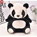 Novo Panda Projeto Animal Mochilas De Pelúcia para o Bebê 2-5 Anos Crianças Crianças do jardim de Infância Schoolbag Sacos de Brinquedo de Presente de Natal