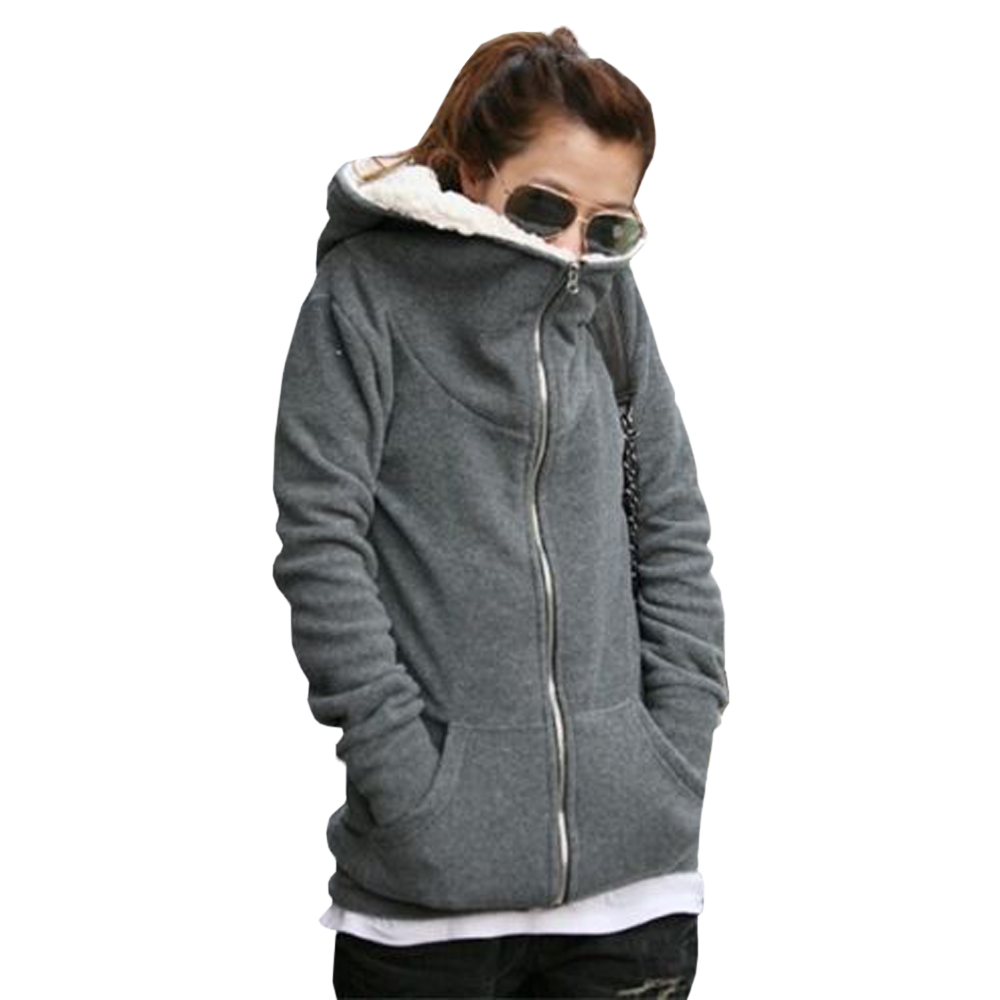 Thick Fleece Jacket Women S Coat Nj