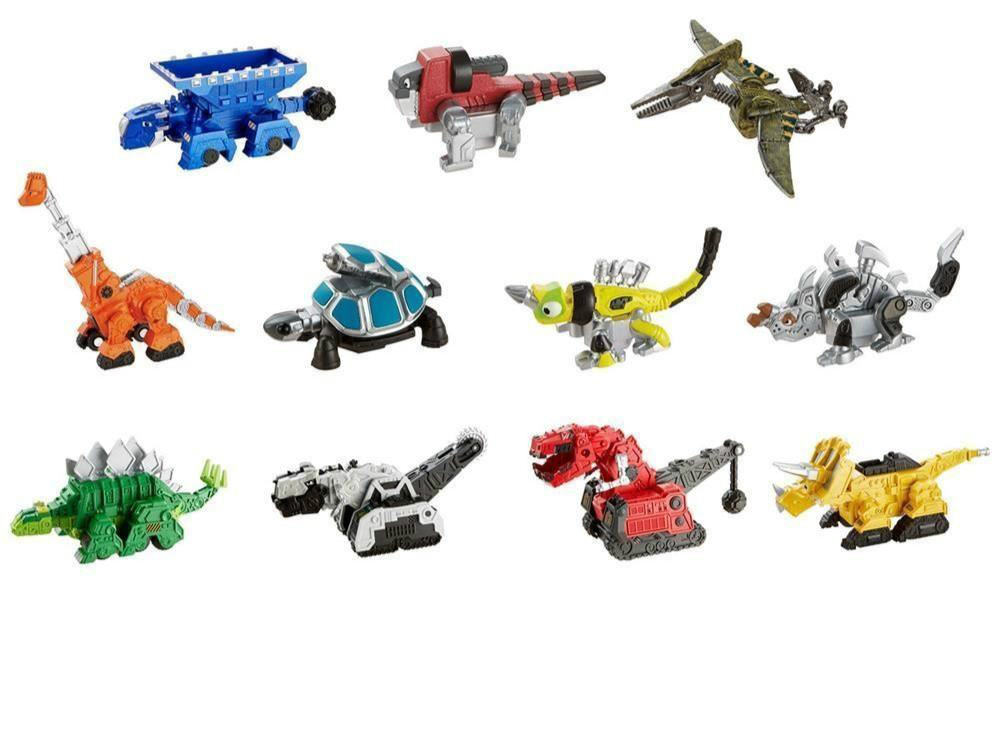 Fit For Dinotrux  Bundle - Ty Rux, Garby, Ton-Ton, Revvit , Ace ,Scraptor ,skya Vehicles