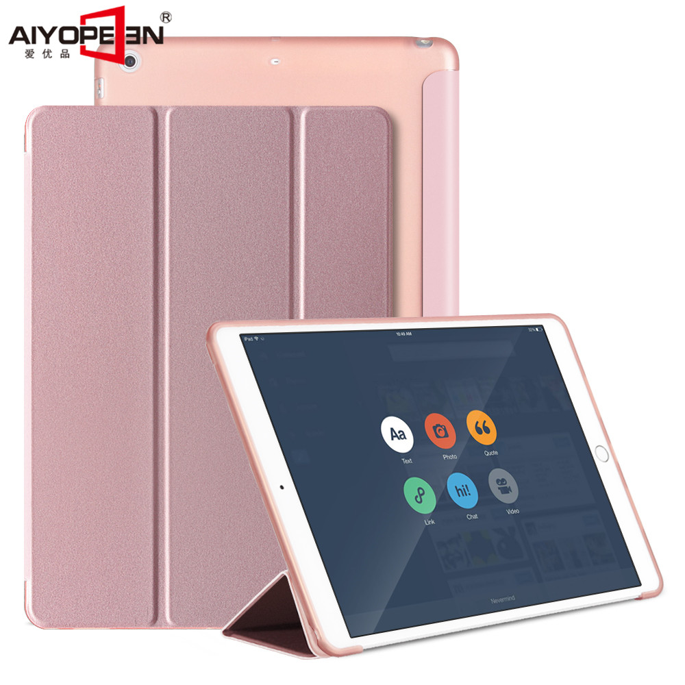 Case for iPad Mini 2 / Mini 3 / Mini 1 Case PU Leather Ultra Slim+Translucent PC Hard Back Smart Cover for Apple iPad Mini Case luxury stand leather case for ipad mini 1 2 retina 3 silk slim clear transparent smart back cover for apple ipad mini2 mini3