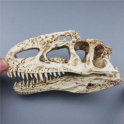 Mrzoot żywiczny model szkieletu dinozaura monolofozaur wzór zwierząt badania nauczania dekoracji w Posągi i rzeźby od Dom i ogród na