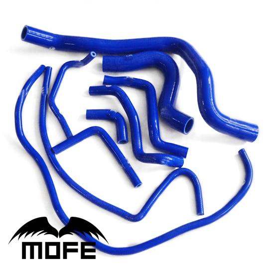 Mofe 9pcs Silicone Radiator Coolant Hose For Volvo S70 / V70 / 850T5 / 850T5R 1992 -1998 Blue цена 2017