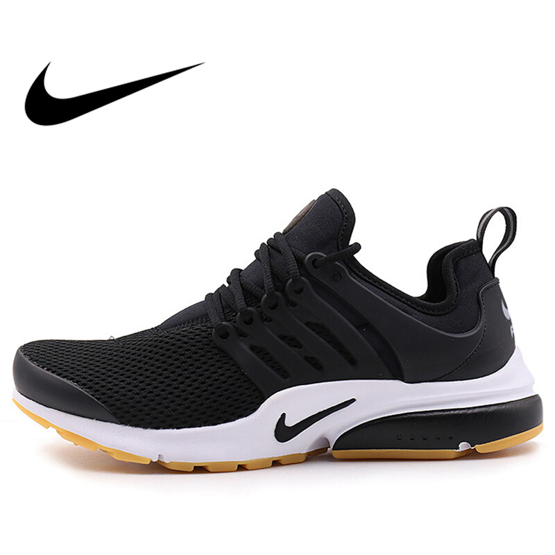 Оригинальный официальный аутентичные Nike Air Presto для женщин низкий Топ дышащие кроссовки спортивная обувь удобные классические