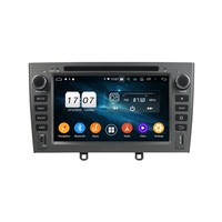 Android 9.0 Octa Core 2 din 7 Car DVD GPS for Peugeot 308 408 2007 2008 2009 2010 Radio 4GB RAM Bluetooth WIFI USB 32GB ROM