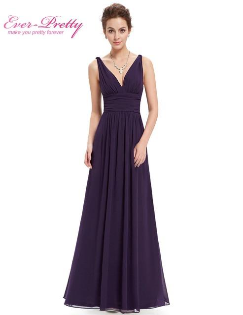 Evening Dresses New Arrival Empire EP09016 Ever Pretty Special Occasion Dresses V Neck Elegant 2017 Evening Dresses