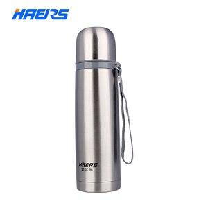 Image 1 - Haers 500ml נירוסטה תרמוס 12 24 שעות שכבה כפולה מבודד ואקום מים בקבוק HB 500F
