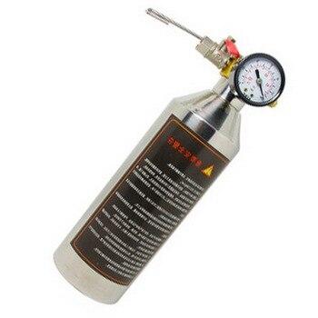 Için Otomotiv A/C Klima soğutma sistemi Temiz Aracı Set temizleme şişe Floş Bidonu Gun Setleri