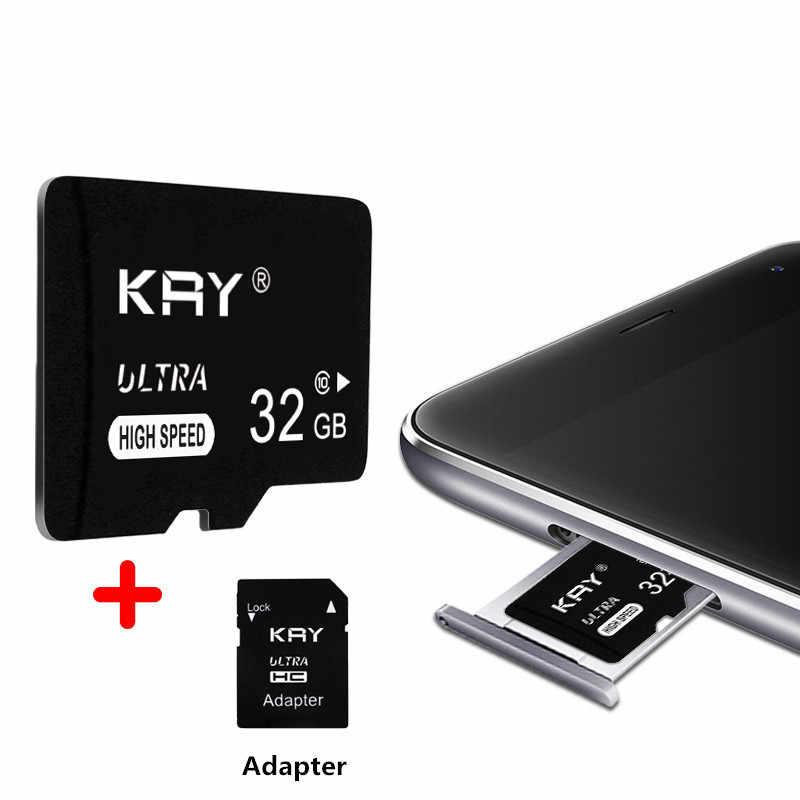 Thẻ SD 32 GB 16 GB 64 GB 128 GB C10 TF Thẻ Nhớ 8 16 32 64 128 GB Cartao De Memoria cho Điện Thoại Thông Minh Với Adapter