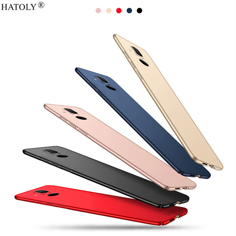 For Cover Nokia 8.1 Case Ultra Thin PC Shell Bumper Protective Hard Back Cover For Nokia 8.1 Style Phone Case For Nokia 8.1