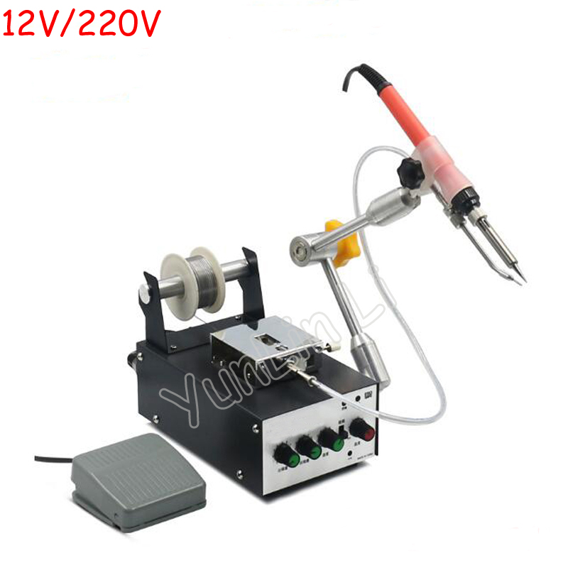 A-BF 60W 12V/24V Foot Switch Send Tin Soldering Machine Automatic Tin Feeding Constant Temperature Soldering Iron HS370/HS375DA-BF 60W 12V/24V Foot Switch Send Tin Soldering Machine Automatic Tin Feeding Constant Temperature Soldering Iron HS370/HS375D