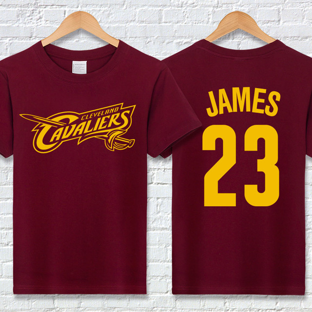 LeBron James T Shirts Cotton Short Sleeve