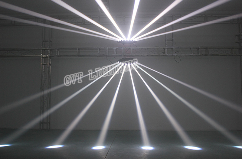 High brightness eight beam Scanner fan beam bar light beam laser RGBW scanner dj club disco light Eight Eyes LED Beam Lamp - 6