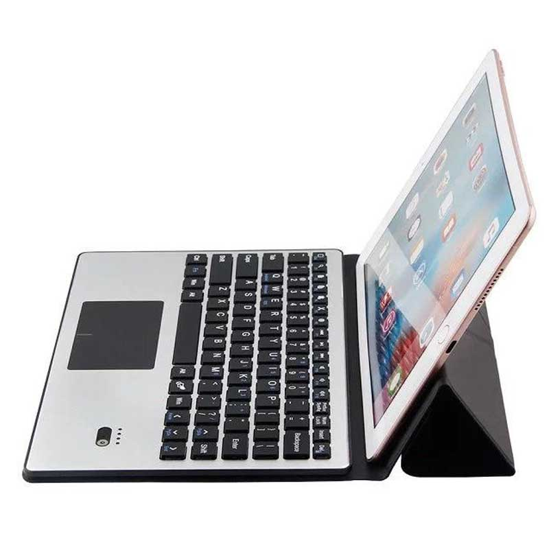 Aluminum Wireless Bluetooth Keyboard Case Cover Touchpad For Samsung Galaxy Note 10.1 N8000 N8010 2014 Edition P600 P601 P605 new original 8point npn input 6point transistor output xc2 14t c plc dc24v 2com cable