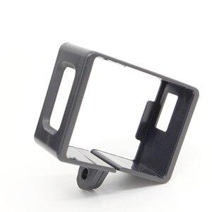 Image 4 - Sj4000 אביזרי פלסטיק מסגרת מקרה עבור Sjcam Sj4000 Sj6000 מגן גבול מסגרת עבור Sjcam 4000 Wifi פעולה ספורט מצלמה