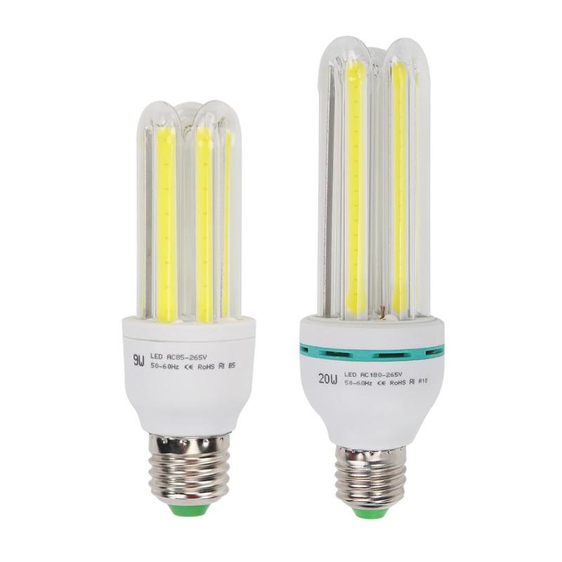 E27 COB LED Bulb Corn Energy-saving Home Bedroom Warm White Night Light Energy Saving Lamp Fluorescent Light Bulb Tube