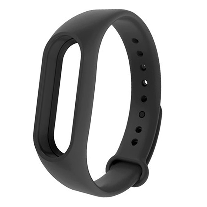 New For Xiaomi Mi Band 2 Soft TPE + TPU Strap Belt WatchBand Wristband Bracelet