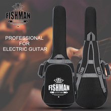 Electric Guitar Case Fully Padded Bass Folk Flattop Balladry Steel-string Backpack Accessories Carry Gig Oxford Bag