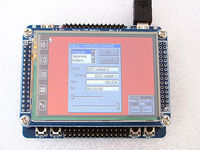 STM32F103RBT6 development board + 2.8 TFT touch screen lcd display module