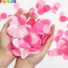 30g/bag 2.5cm Paper Confettis Dots for Wedding Party Decorat