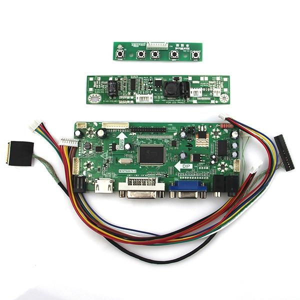 Für M215hw02 V.0 Lvds Monitor Wiederverwendung Laptop 1920*1080 Angenehm Zu Schmecken Nt68676 Lcd/led Controller Driver Board hdmi + Vga + Dvi + Audio M