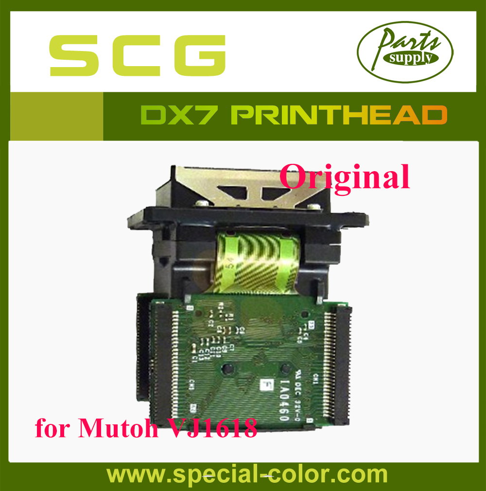 Japan DX7 Printhead Solvent Mutoh Print Head for VJ1618 6pcs lot dx7 solvent cap top mutoh 1618 capping station protect head