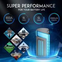 Multi Function 20000mAh Starting Device 12V 800A Jumper Starter Super Tablet Chargers For Car Battery Booster