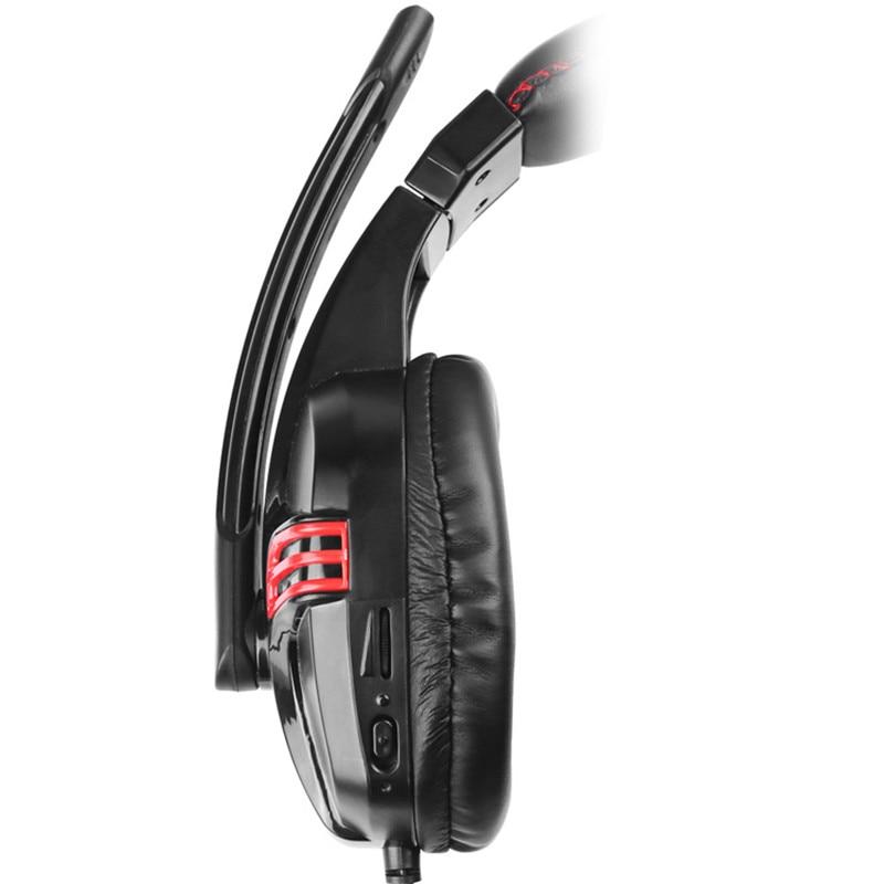 Salar KX236 Over Ear Stereo Gaming Headset Headphones Adjustable Gamer USB Headband with Mic Headphone for PC Computer
