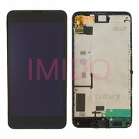 For Lumia 630 LCD Display Touch Screen Digitizer Assembly Frame Replacement Parts