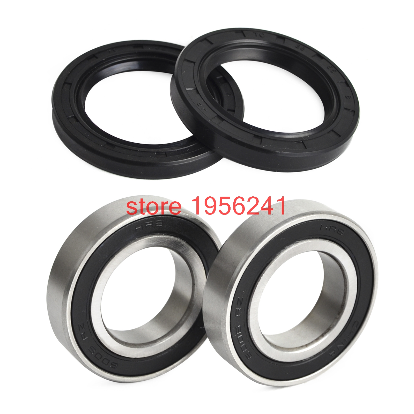 NICECNC Front Wheel Bearing Seats & Oil Seal Kit For <font><b>UTV</b></font> 800 700 <font><b>500</b></font> 400 <font><b>Hisun</b></font> Massimo Supermach Bennche image