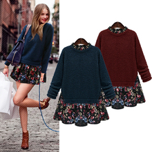2017 Новая Украина повседневная kawaii женщин svitshot пуловер большой плюс размер капюшоном толстовка для весны и зимы