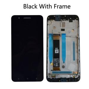Image 4 - Новый ЖК дисплей 5,5 дюйма с Frmae для HTC ONE X10 X 10 X10w X10u, полный ЖК дисплей + кодирующий преобразователь сенсорного экрана в сборе для HTC E66 LCD