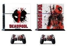 Deadpool 389 PS4 Skin PS4 Sticker