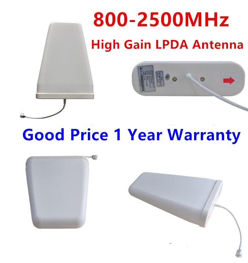 bilder für Außen LPDA Antenne high gain 800-2500 MHz GSM 2G 3G 4G Log Periodic Antenne Externe antenne Für Handy Signal Booster