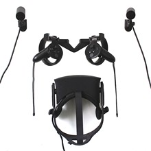 Wall Hook Stand Mount for Oculus Rift CV1 VR Headset & Touch & Sensor Wall Hook Stand For VR Oculus Headset(China)