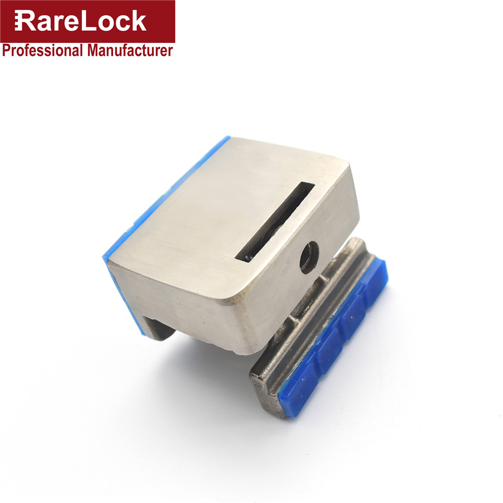 Rarelock Christmas Supplies Baby Care Window Lock without Drilling for Sliding Door Bathroom Anti-thef Hardware DIY f brand new 5sets sliding window lock security anti theft bolt lock children safety prevent baby opening sliding window limit lock