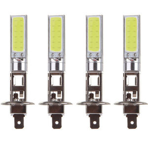 New Arrival 4Pcs H1 COB LED Ca