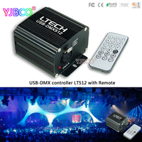 LED USB DMX Master Controller LT512 DC5V Internal Memory 120 Steps Mini USB Connection 512 Channel