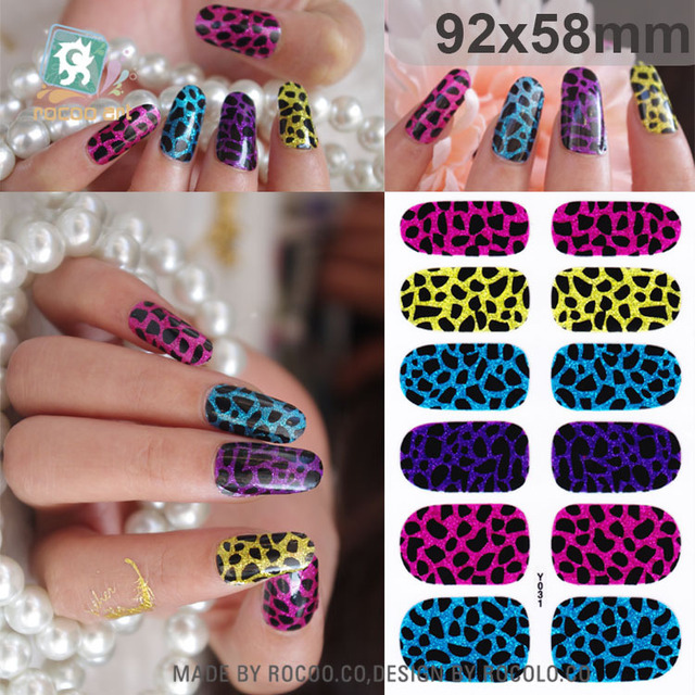 2016 limited real nails pregnant women can be non toxic nail stickers glitter full manicure