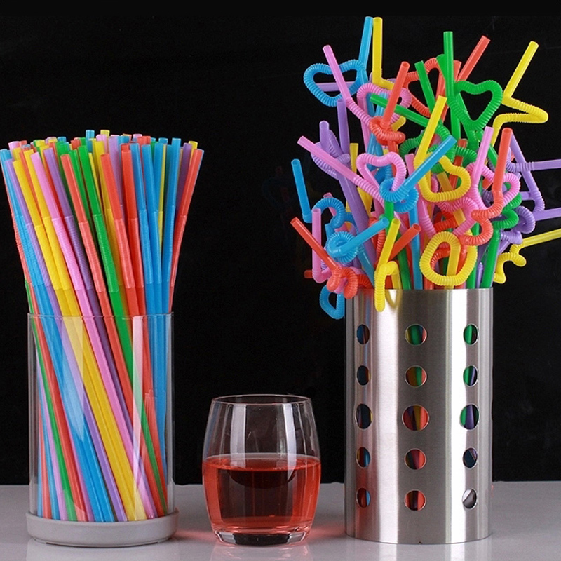 decorative straws for weddings 50pcs plastic disposable pipette juice tea 3463