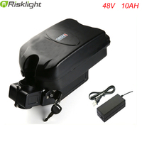 frog ebike battery 48v 10ah 750w lithium ion battery with charger and bms